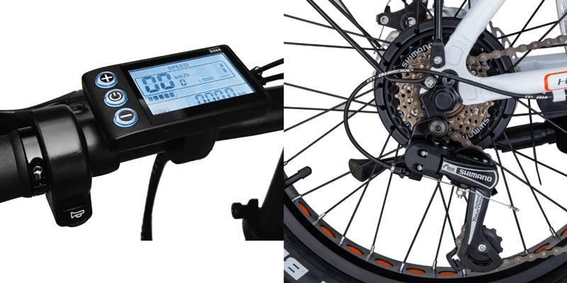 bicicleta elétrica todo-o-terreno - EbikeC7 UrbanGlide