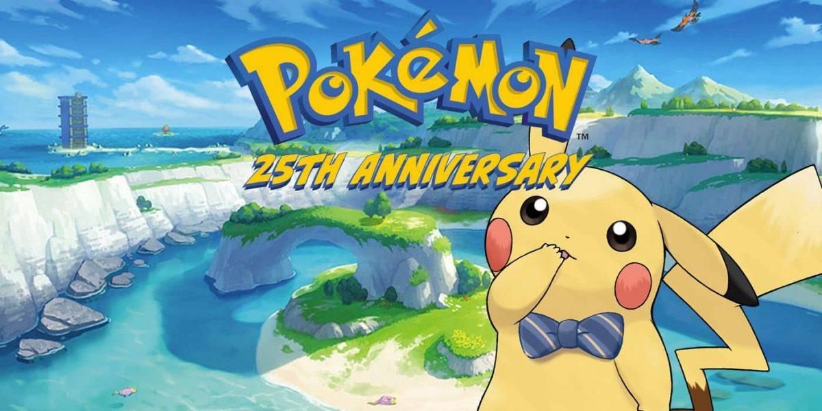 Pokémon 25 anos jogos grátis
