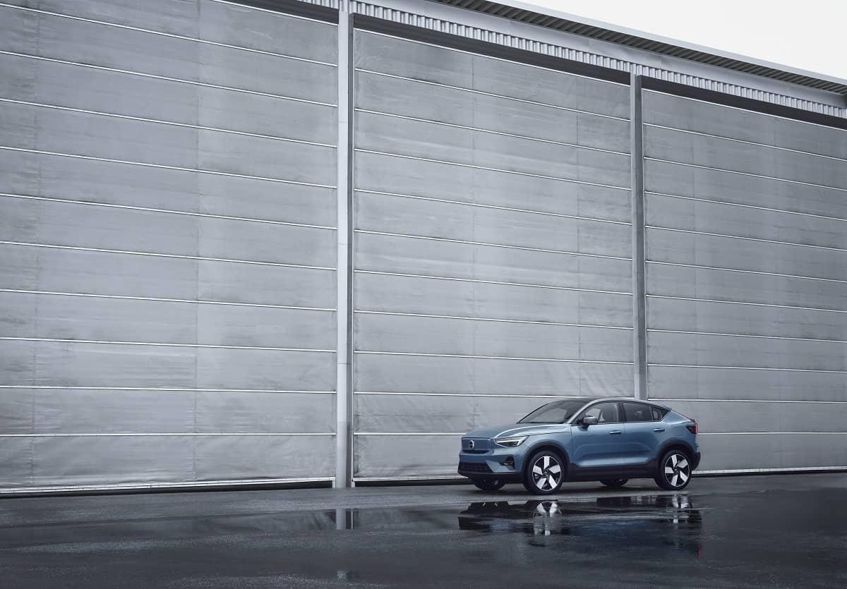 07 Volvo C40Recharge three quarter front WS carro elétrico, Crossover, mobilidade elétrica, SUV, Volvo, Volvo C40 Recharge
