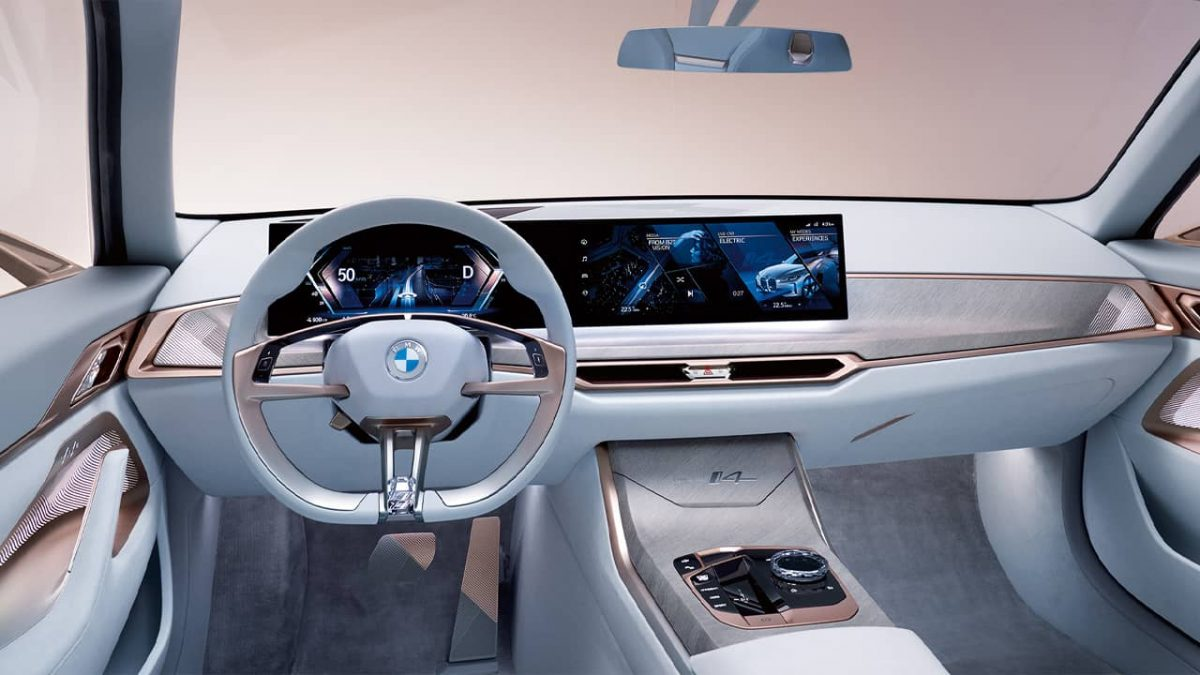 BMW i4 sedã carro elétrico 4