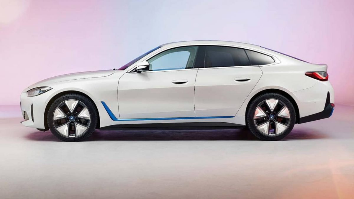 BMW i4 sedã carro elétrico 3