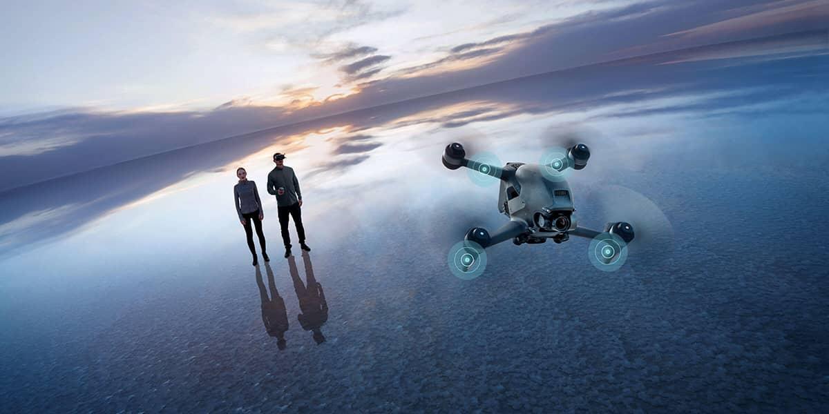 DJI FPV drone de corrida