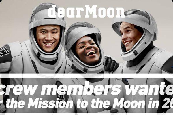 DearMoon multi Milionário japonês lua