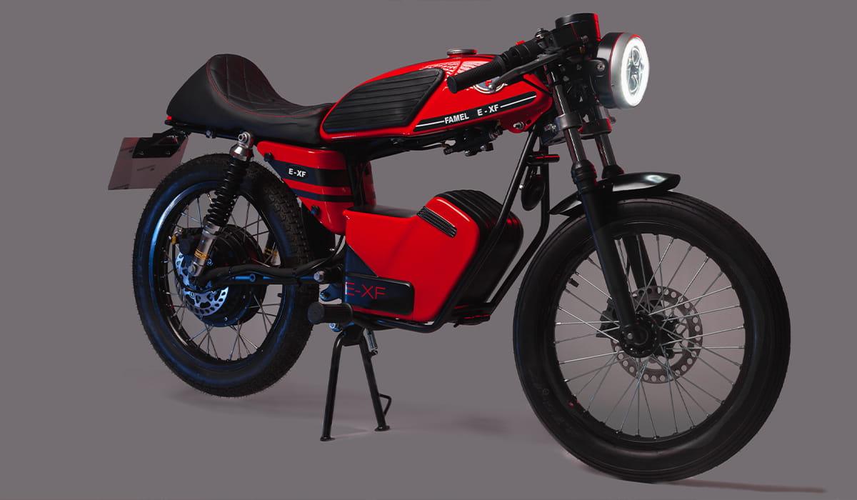 Famel E-XF mota elétrica