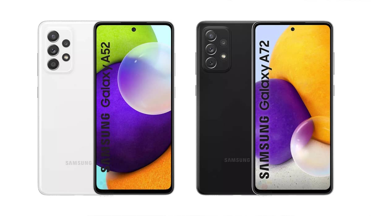 Samsung Galaxy A52 Galaxy A72