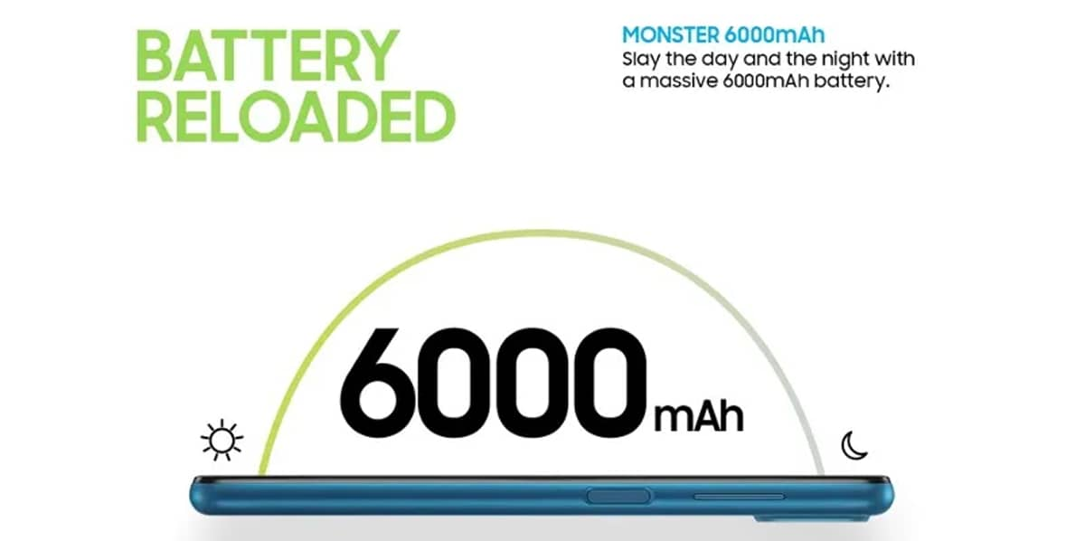 Samsung Galaxy M12 bateria
