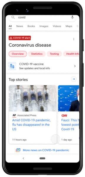 Google Notícias aparece na Pesquisa Google