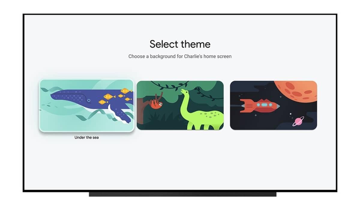 Google TV Crianças