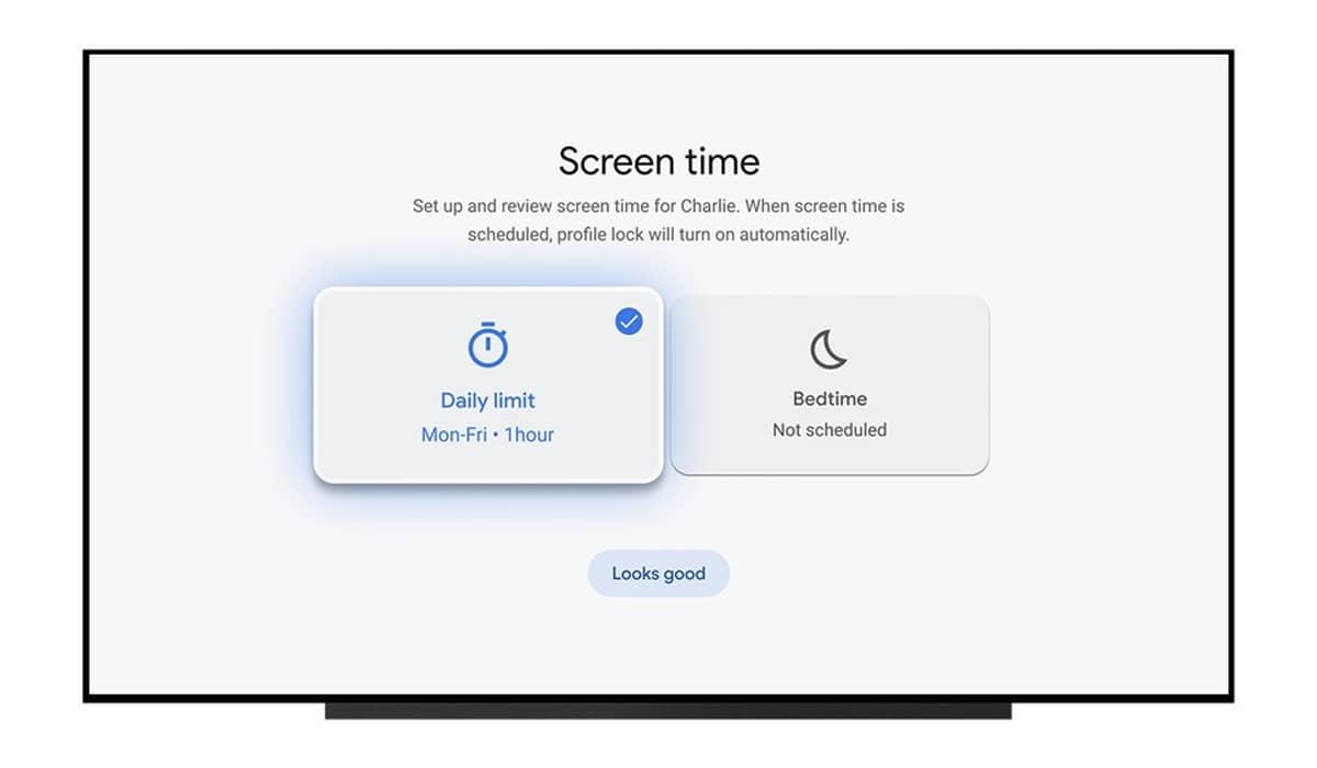 Google TV temporizador