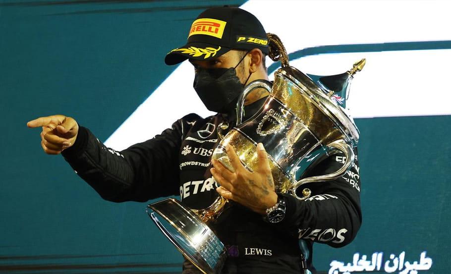 Lewis Hamilton vence no GP Bahrein 2021