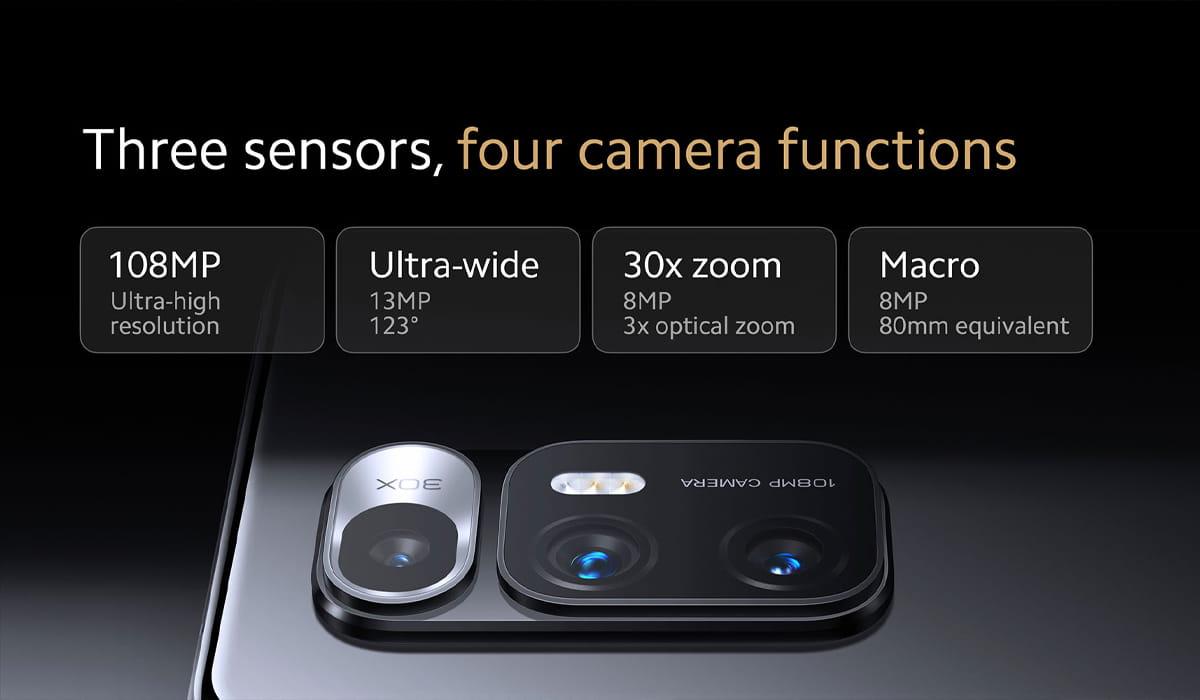 Xiaomi Mi MIX Fold camaras