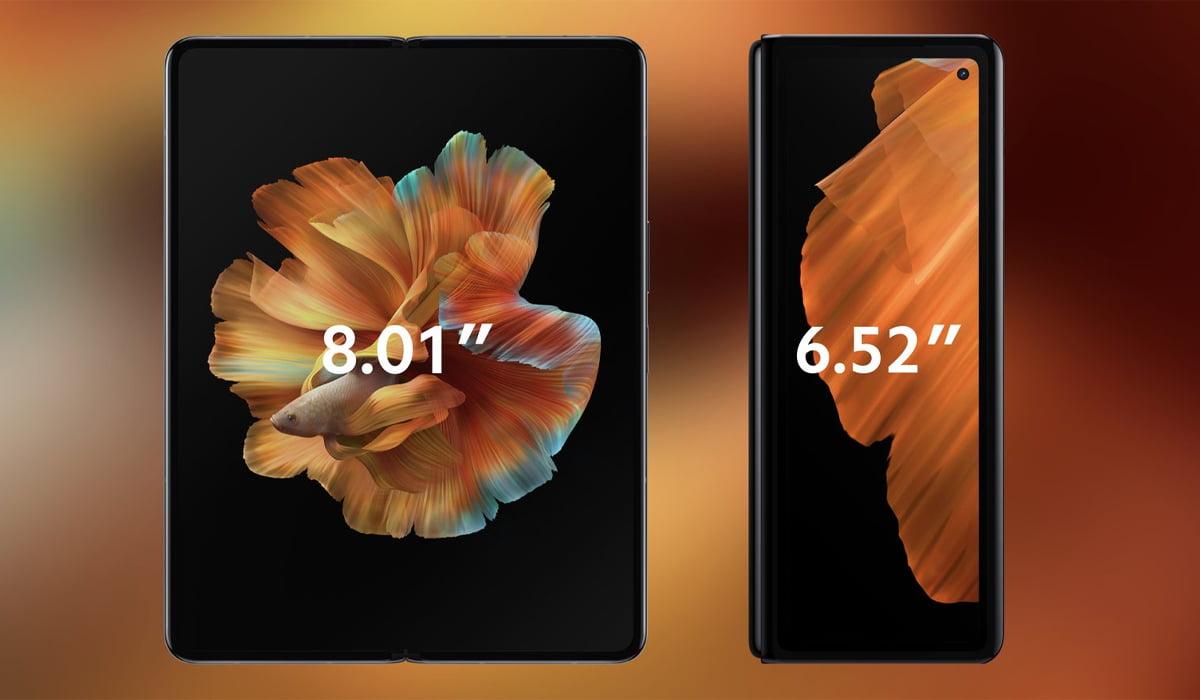 Xiaomi Mi MIX Fold ecrãs