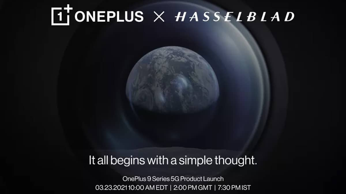 OnePlus 9 Pro Hasselblad apresentação