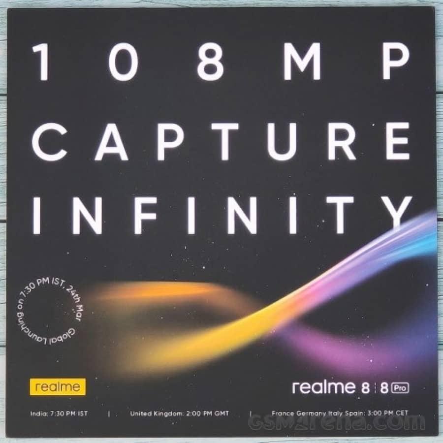 Realme 8 Pro convite 2