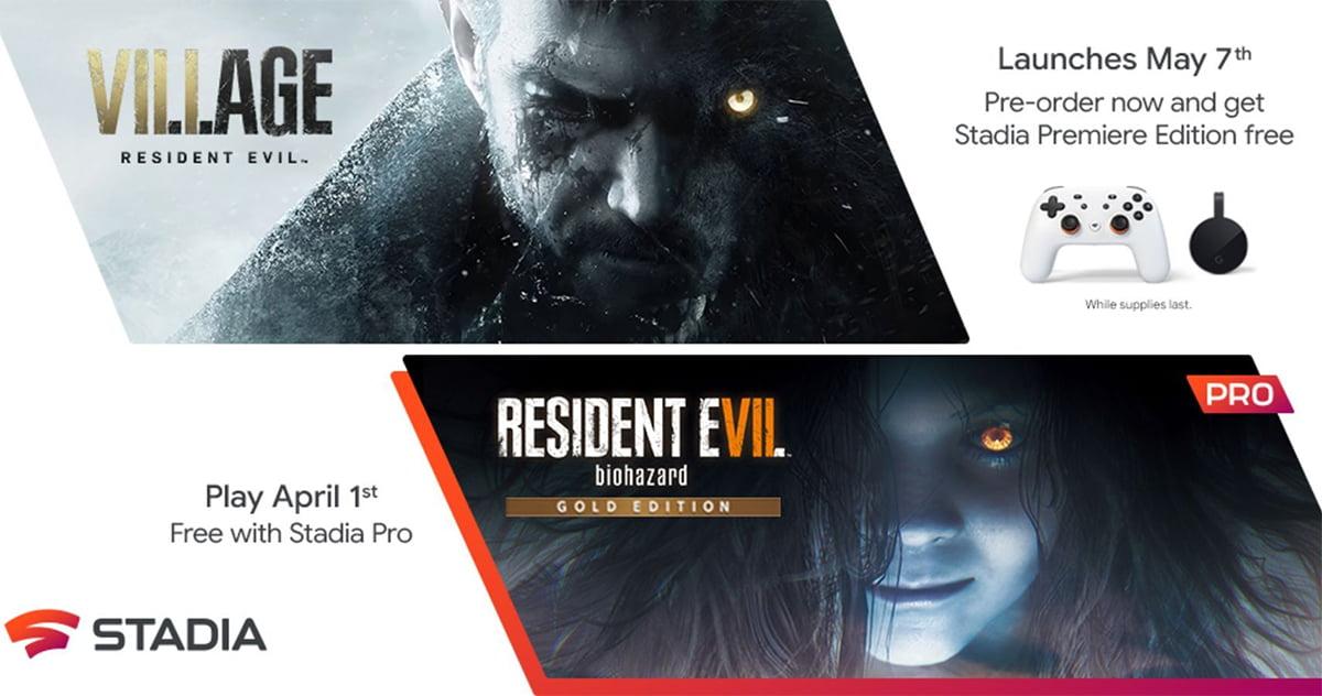 Resident Evil Village Oferta Google Stadia