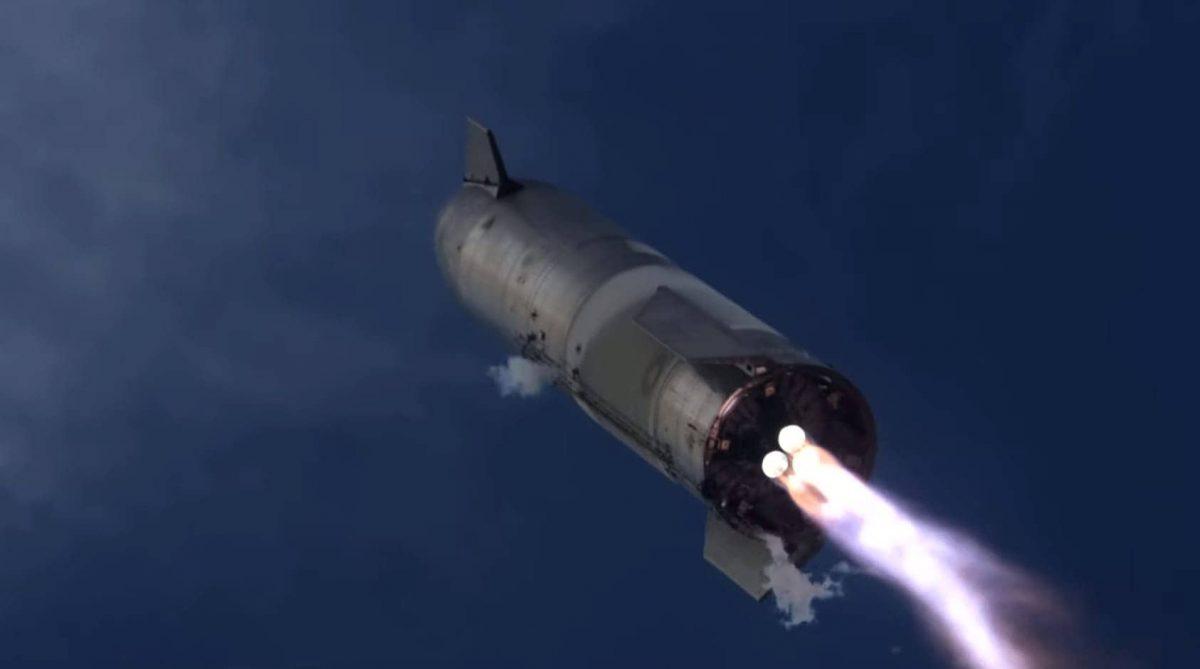 SpaceX Starship explosão SN10 Elon Musk