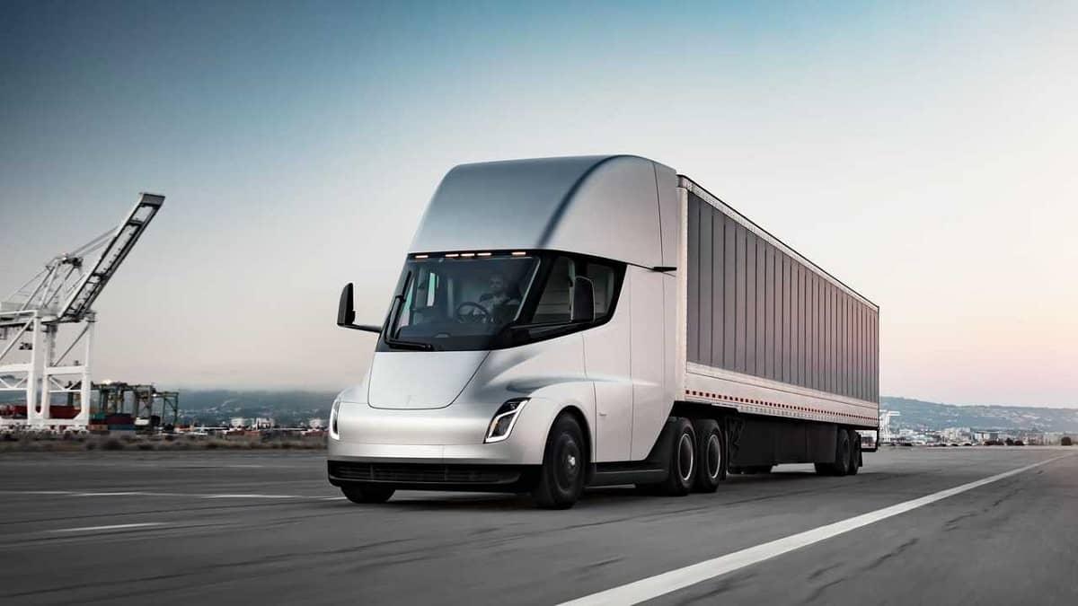 Tesla Semi Camião Elétrico