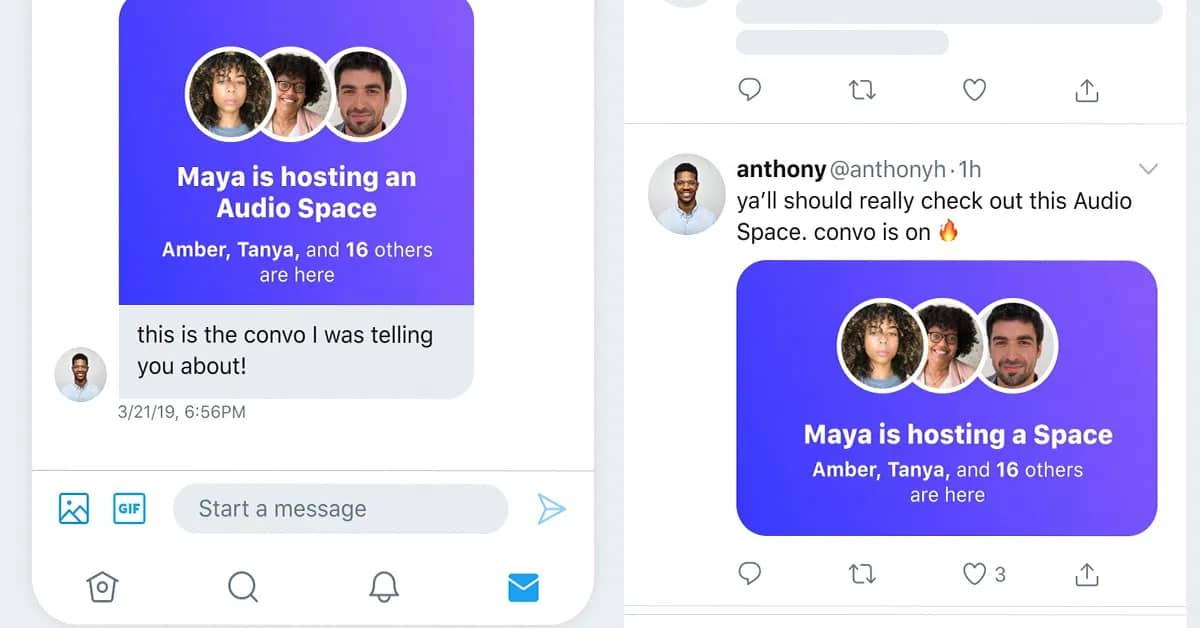 Twitter Spaces rival Clubhouse