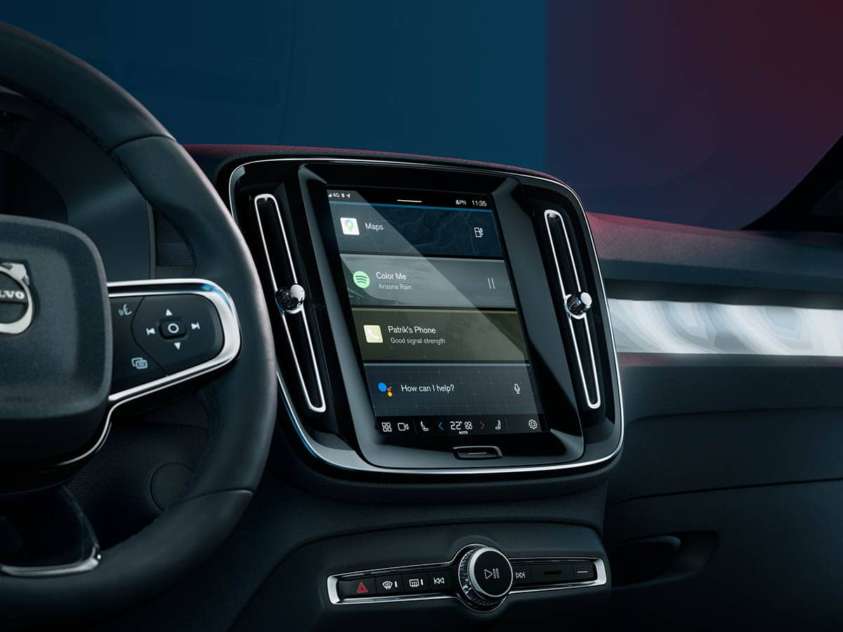 Volvo C40Recharge GoogleAssist carro elétrico, Crossover, mobilidade elétrica, SUV, Volvo, Volvo C40 Recharge