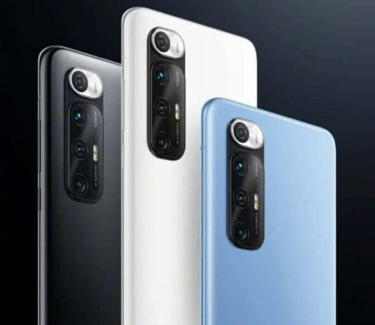 Xiaomi Mi 10S Design