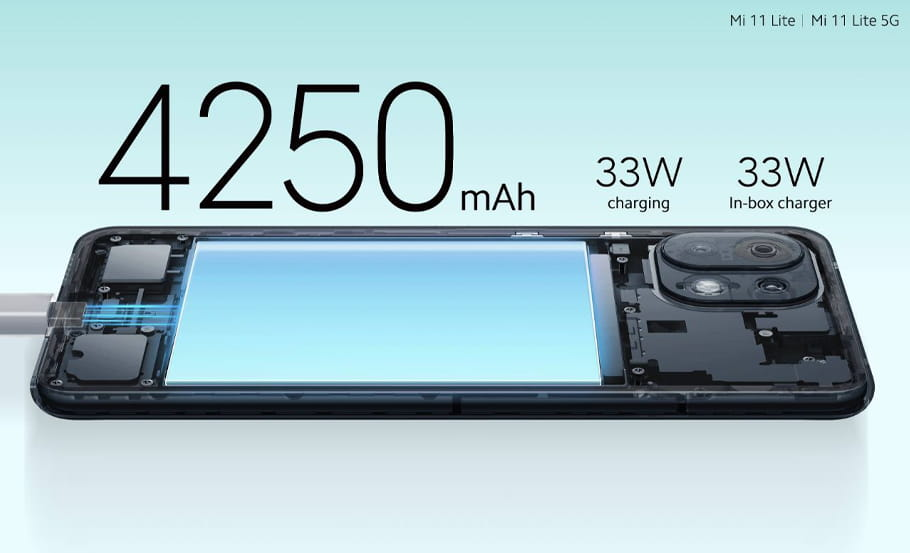 Xiaomi Mi 11 Lite Snapdragon 780G