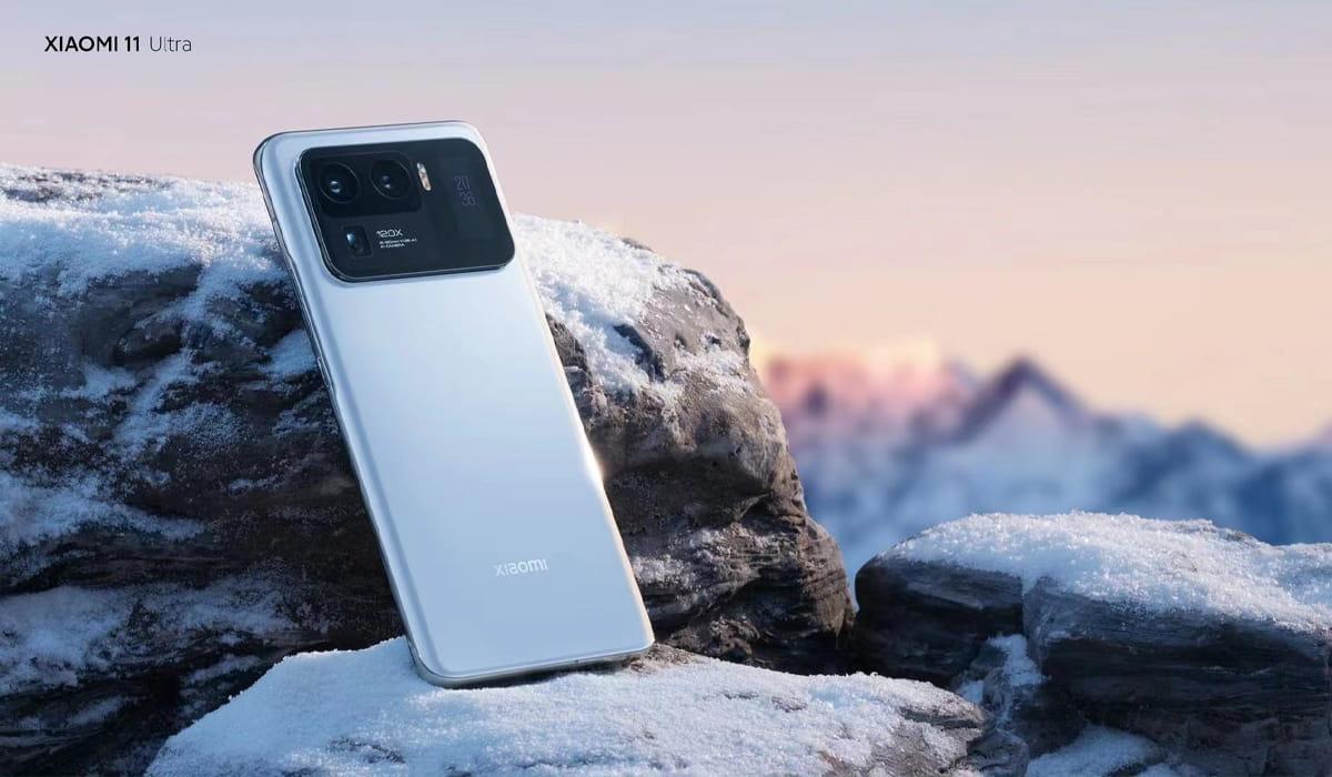 Xiaomi Mi 11 Ultra branco