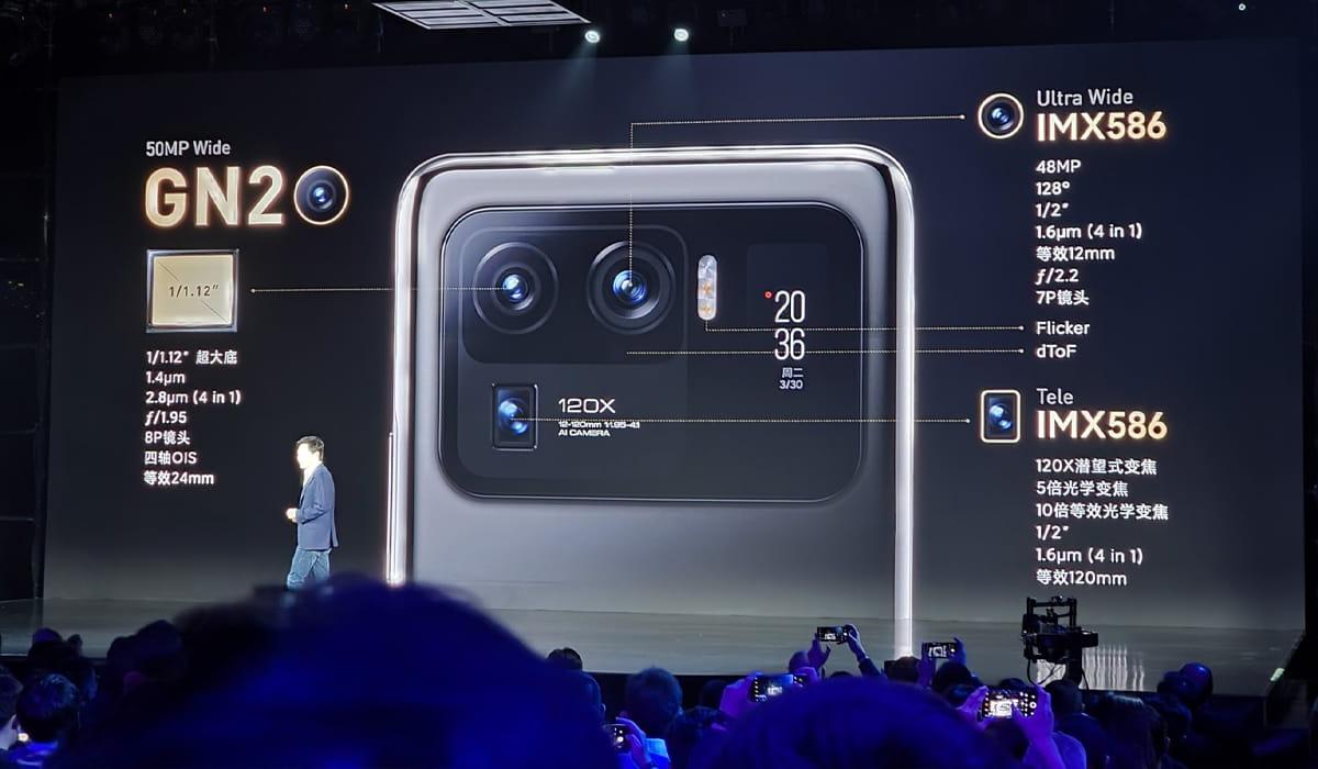 Xiaomi Mi 11 Ultra câmaras