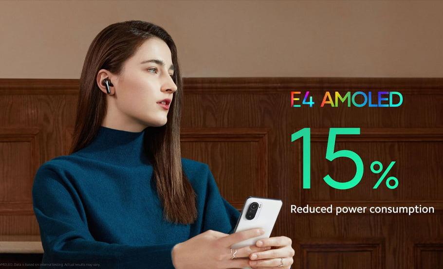 Xiaomi Mi 11i ecrã
