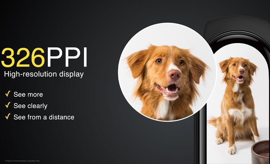 Xiaomi Mi Band 6 ecrã