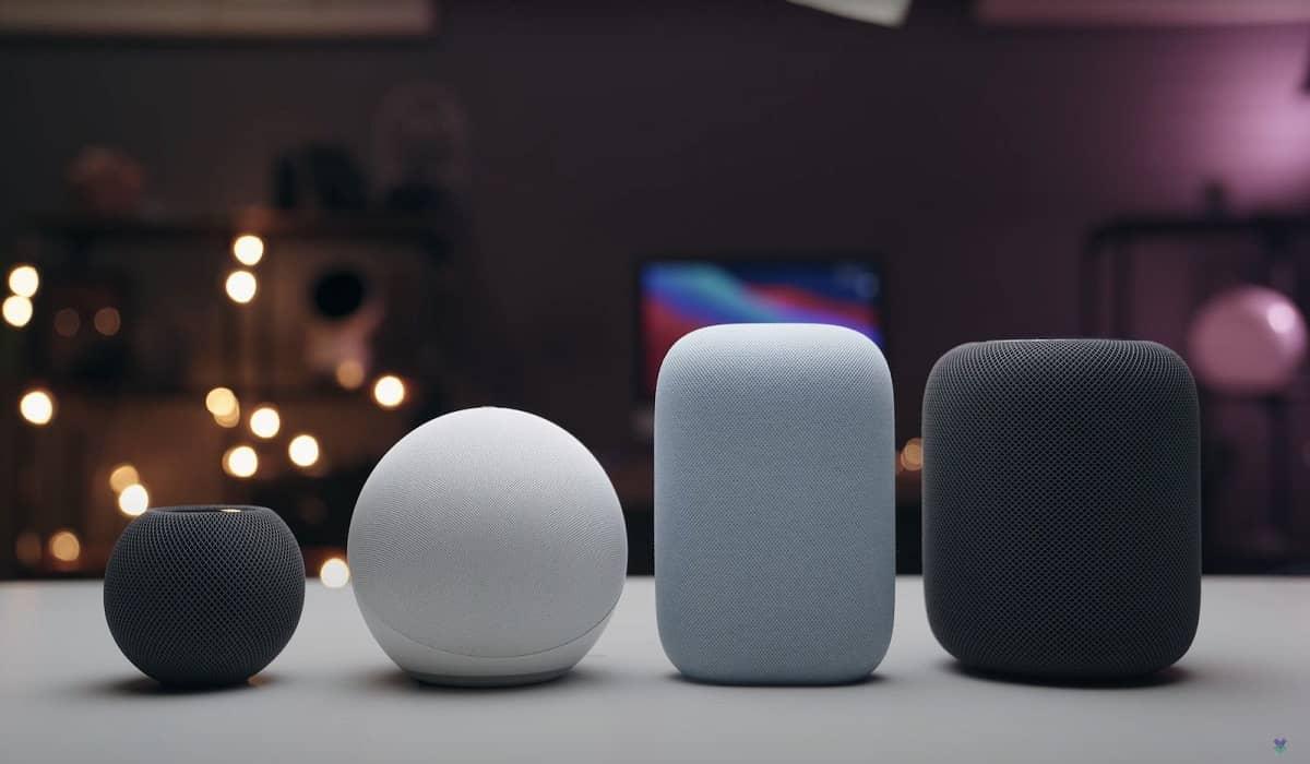 Apple HomePod Amazon Google