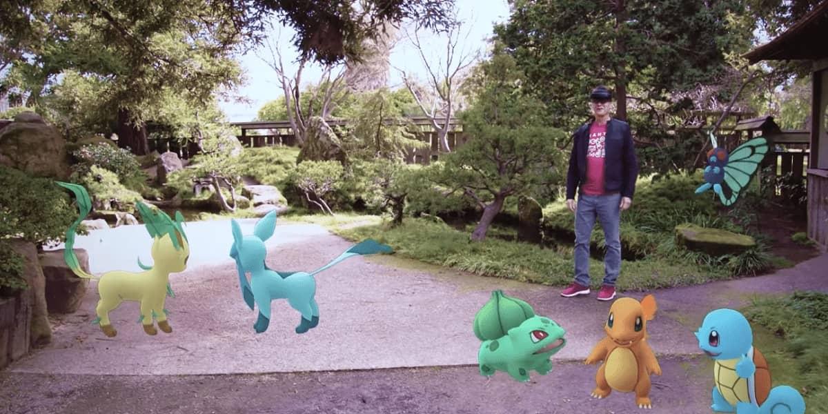 Pokémon Go Hololens Niantic Microsoft