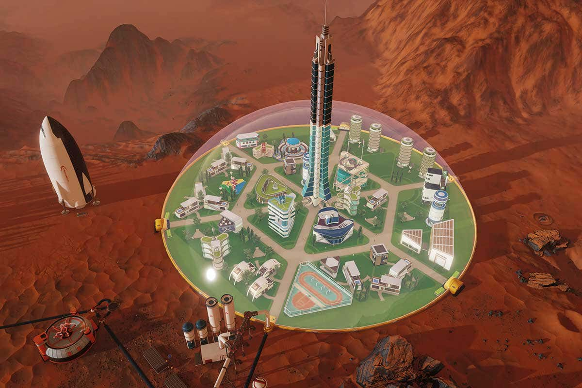 Surviving Mars Epic Games Launcher jogo grátis