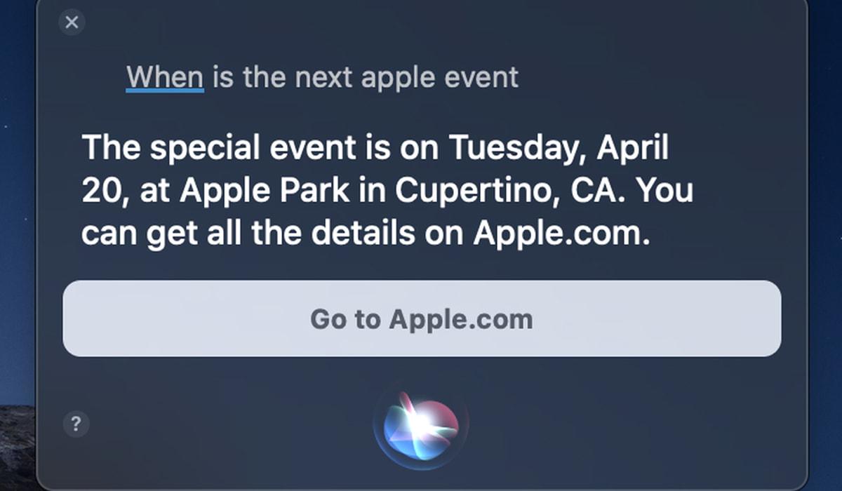 Apple evento Siri assistente virtual