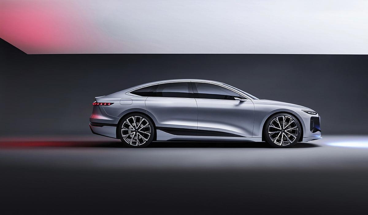 Audi A6 e-tron carro elétrico