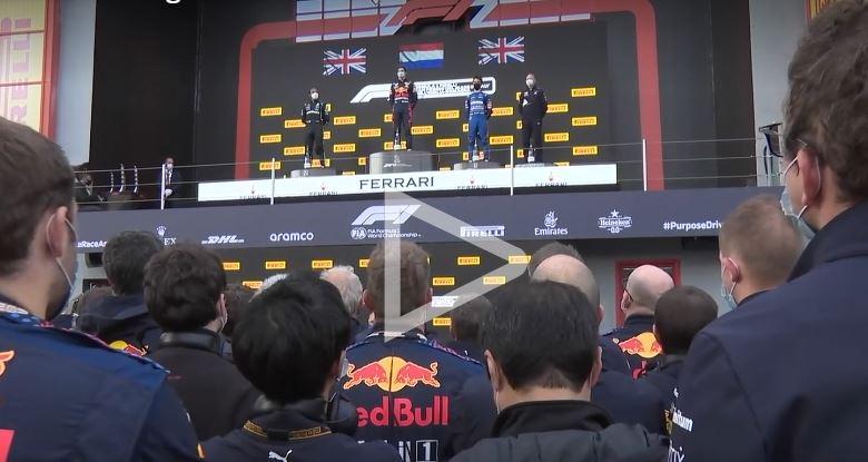 Podium GP Emilia Romagna Fórmula 1