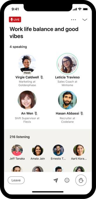 LinkedIn terá app concorrente do Clubhouse - Techenet - redes sociais - a Menina Digital