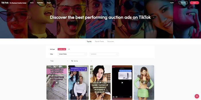 Novidade no TikTok - app lança novo Business Creative Hub - Centro de Criação de Negócios - redes sociais - a Menina Digital - Techenet - 3
