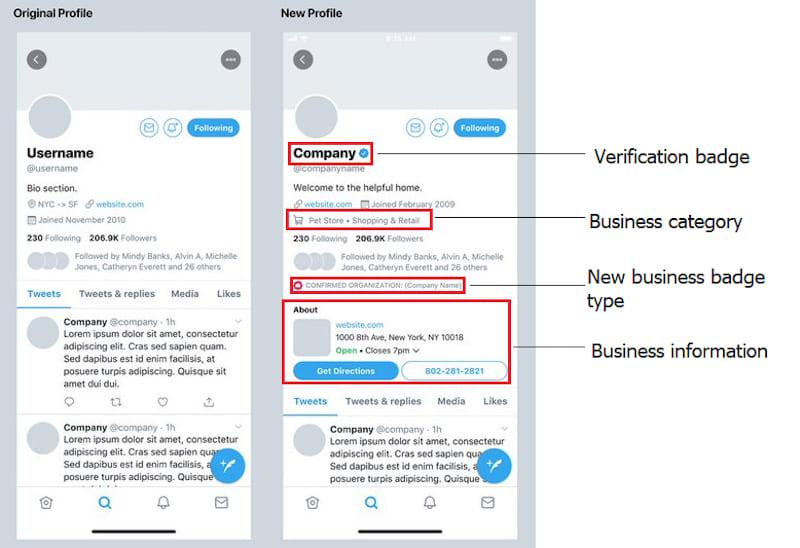 Novidades no Twitter - plataforma testa Perfis Profissionais para marcas e criadores de conteúdo - marketing digital - redes sociais - a Menina Digital - Techenet - Cláudia Assis