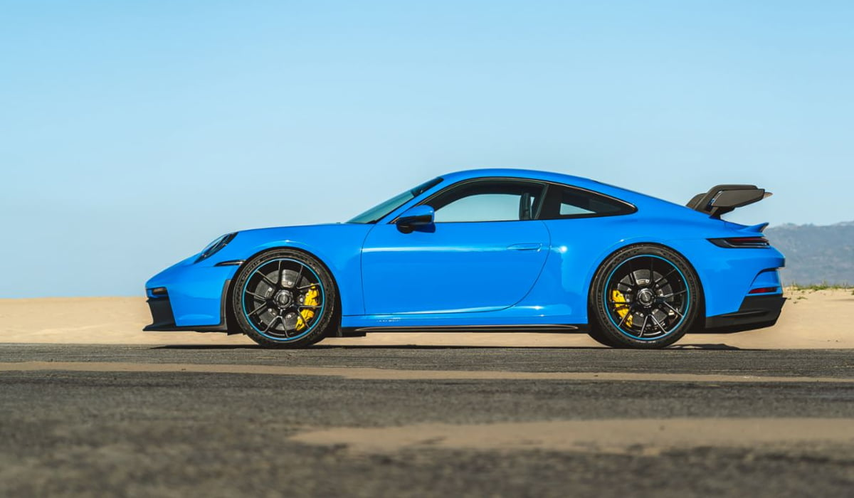Porsche 911 Android Auto