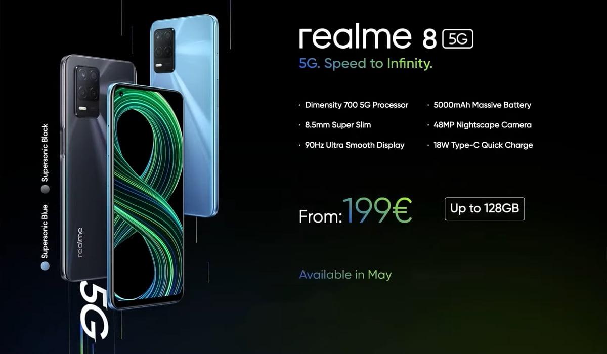 Realme 8 5G Europa