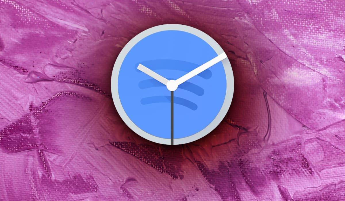 Relógio Google Spotify