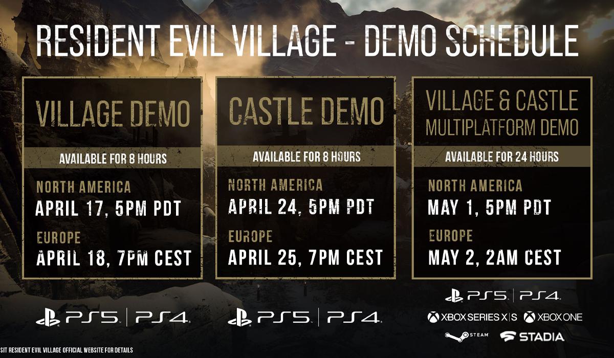 Resident Evil Village Google Stadia