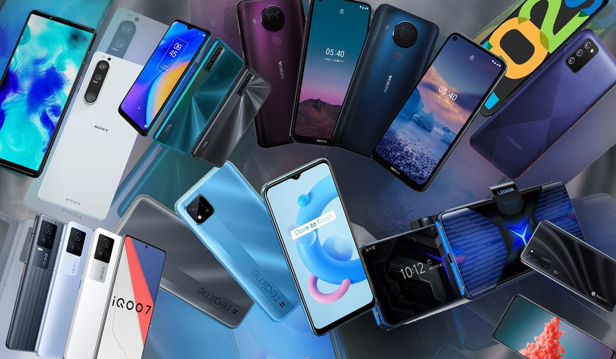 Smartphones Android Abril