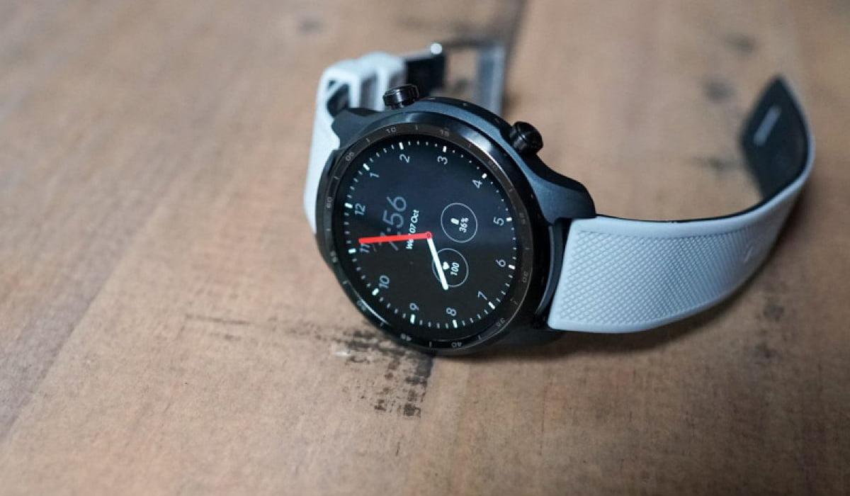 TicWatch Pro 3 smartwatch atualização
