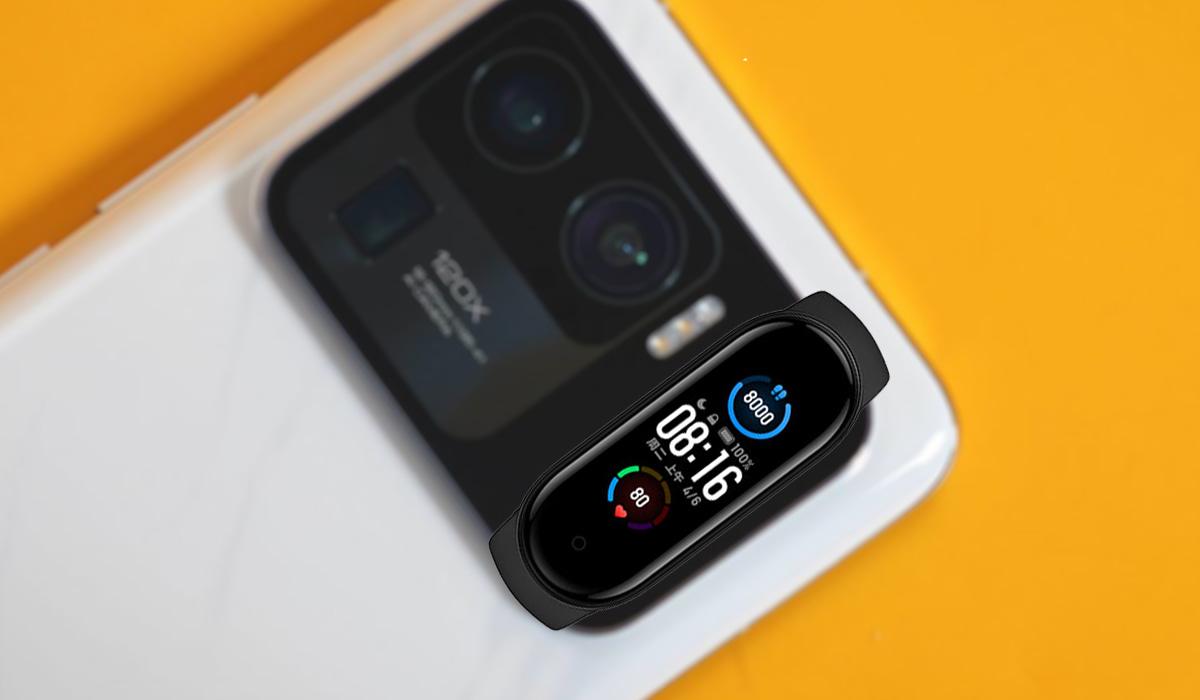 Xiaomi Mi 11 Ultra câmara Xiaomi Mi Band 5