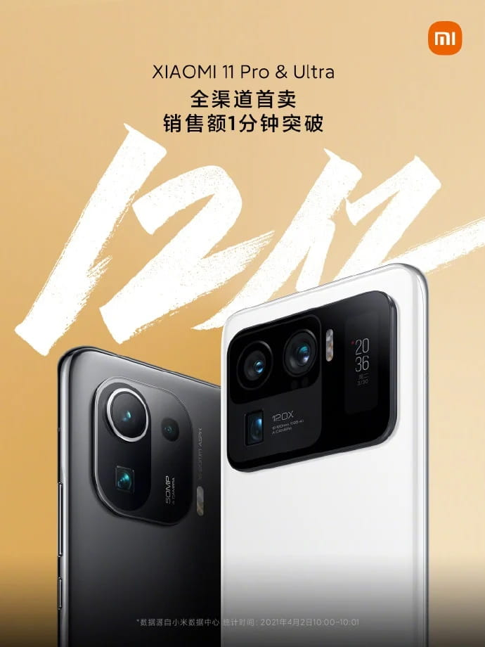 Xiaomi Mi 11 Ultra China