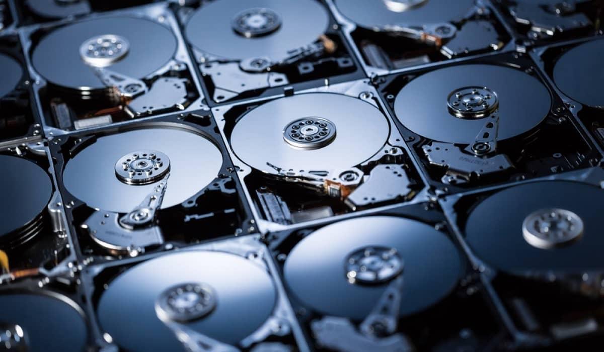 Chia Coin disco rígido SSD criptomoeda