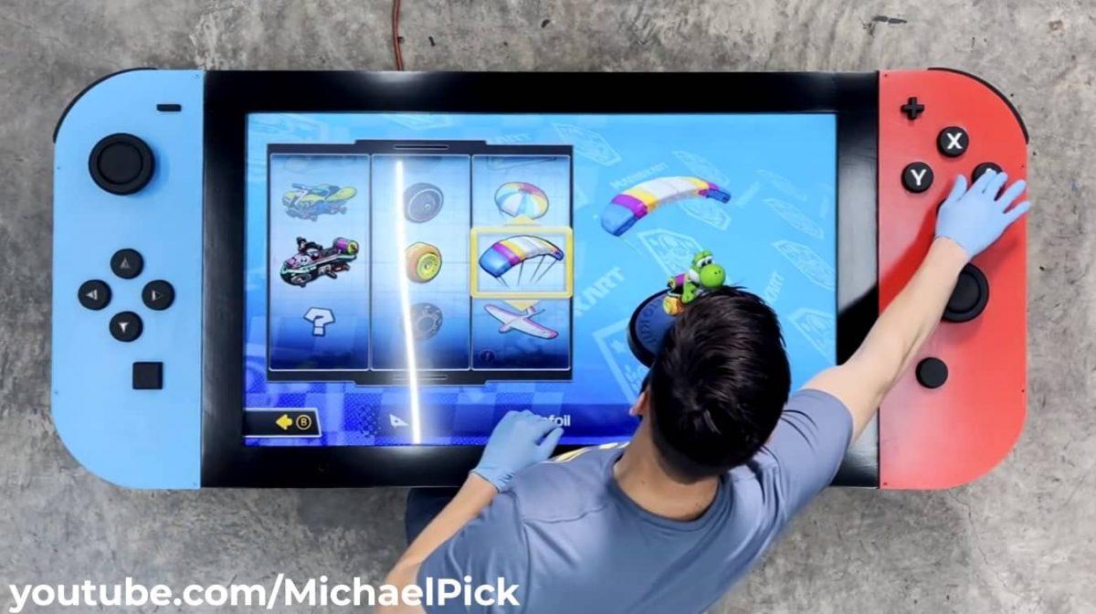 nintendo switch gigante 2 Michael Pick, Nintendo, Nintendo Switch, youtube