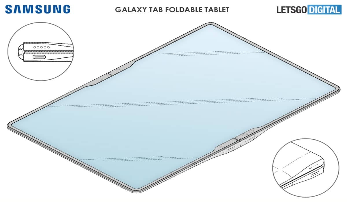 Samsung Tablet Dobrável