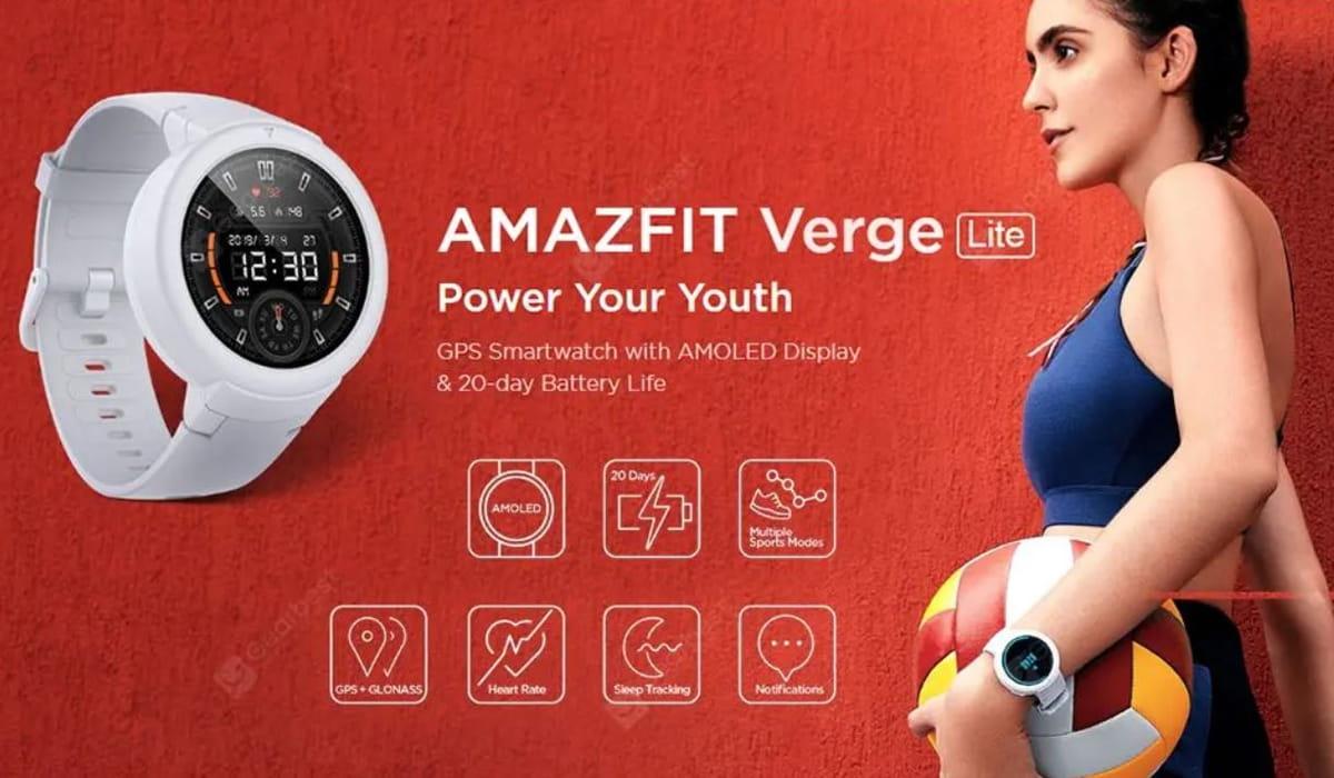 Amazfit Verge Lite promoção Amazon
